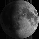 Luna Gibbosa Crescente